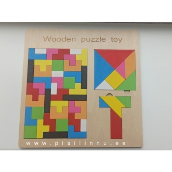 Tangram / tetrise pusle