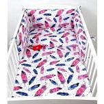 Laste voodipesukomplekt 100x135 sulgedega