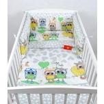 Laste voodipesukomplekt 100x135 öökullid