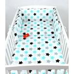 Laste voodipesukomplekt tähtedega 100x135