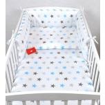 Laste voodipesukomplekt 100x135 (sinised tähed)