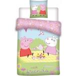 Laste voodipesukomplekt Peppa 100x135